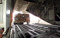 US Navy 040229-N-8055R-006 A pallet of fresh food bound for U.S. forces on Palawan is loaded aboard a C-130T Hercules.jpg