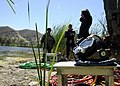 US Navy 080823-N-9584H-058 Seabee divers prepare for operations at an underwater salvage project site during Operation Bearing Duel 2008 at Fort Hunter Liggett.jpg