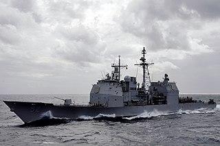 <i>Ticonderoga</i>-class cruiser class of US guided missile cruisers
