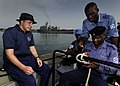 US Navy 100315-N-7948C-045 Nigerian sailor Maji Isah Ocheje demonstrates proper knot-tying techniques during a basic small boat operation workshop.jpg