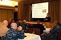 US Navy 100520-N-2209D-001 Lt. Thomas Brown facilitates personal and fleet readiness training at the Bangor Plaza Ballroom at Naval Base Kitsap Bangor during the annual Personal Readiness Summit.jpg