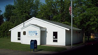 Portage, New York - US Post Office-Hunt NY, July 2011
