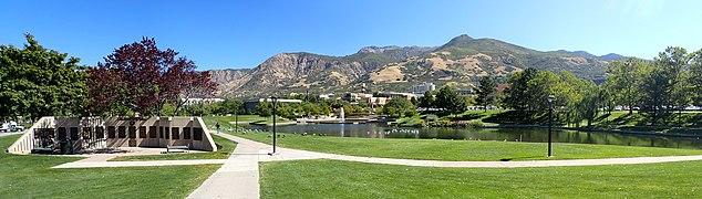 US Utah Ogden WSU Lake Panorama.jpg