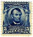 US stamp 1903 5c Lincoln Sc304.jpg