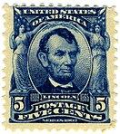 Abraham Lincoln, 5¢