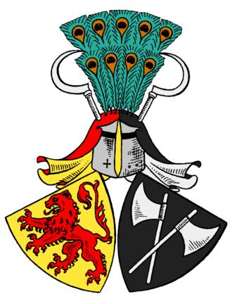 Uexküll - Coat of arms of Uexküll family Since 1475.