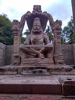 Ugra Narasimha at Hampi.jpg