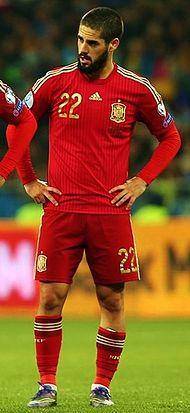 Испанский футболист иско