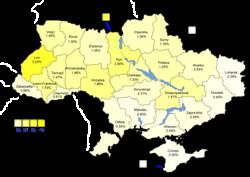 Bloc Yulia Tymoshenko results (30.71%