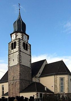 Ungersheim, Église Saint-Michel 2.jpg