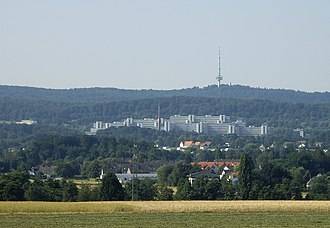 Bielefeld University - Bielefeld University on the north side of Teutoburg Forest