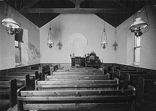 Unidentified chapel interior