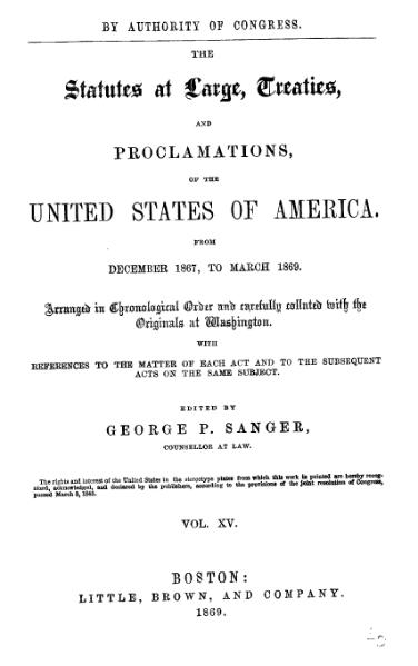 File:United States Statutes at Large Volume 15.djvu
