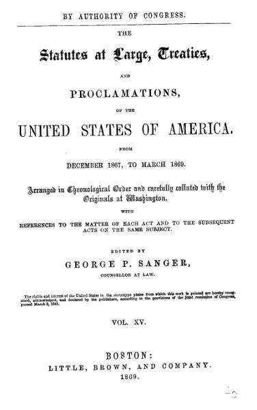 File:United States Statutes at Large Volume 15.djvu