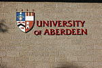 University of Aberdeen escutcheon (coat of arms) - geograph.org.uk - 976482.jpg