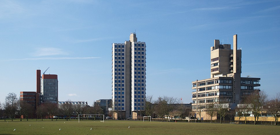 University of Leicester towers 2010