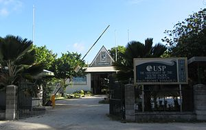University of the South Pacific - Campus in Bairiki, Kiribati, in 2011