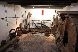 Law Uk Folk Museum - Law Uk's utility room