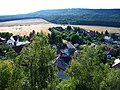 Výhled z Hudlické skály, směr Krušná hora (01).jpg