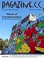 V9N6 Ragazine.CC cover by Brazilian-born artist Duda Penteado.jpg