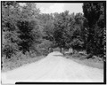 VIEW SHOWING SOUTH APPROACH - Fannin County Road 222 Bridge, Spanning Toccoa River, Dial, Fannin County, GA HAER GA,56-DIAL,1-4.tif
