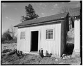 VIEW TO WEST-SOUTHWEST - Hayt Farmstead, Farm Storage Shed, Route 311, Patterson, Putnam County, NY HABS NY,40-PAT,2-E-1.tif