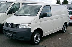 Volkswagen Transporter T5 przed liftingiem