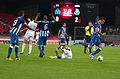 Valais Cup 2013 - OM-FC Porto 13-07-2013 - Simulation d'un joueur au sol.jpg