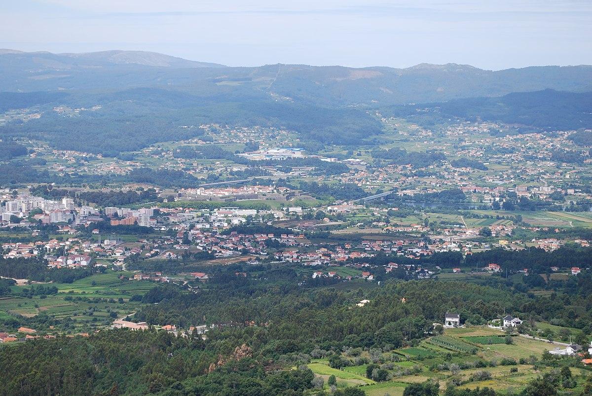 Valença Portugal Wikipedia - Valenca portugal map