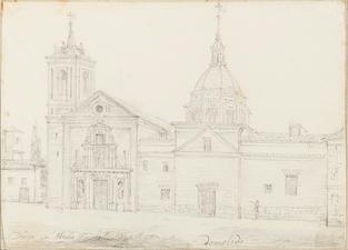Valentín Carderera y Solano (1820-59) Monasterio de San Diego en Alcalá de Henares.png