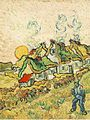 Van Gogh Thatched Cottages in the Sunshine.jpg