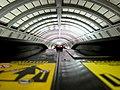 Van Ness-UDC station from escalator (10064597613).jpg