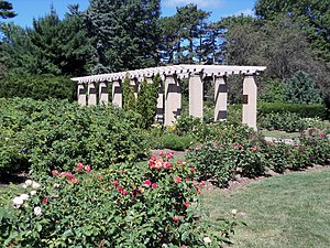 Vander Veer Park Historic District - Rose Garden