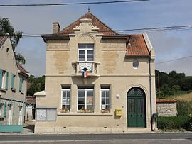The town hall of Vassogne