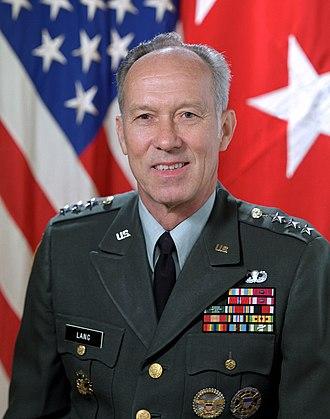 Vaughn O. Lang - Lieutenant General Vaughn Lang in 1985