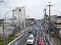 Velodrome Street at Tomatsuri Ohashi Pedestrian Bridge.jpg