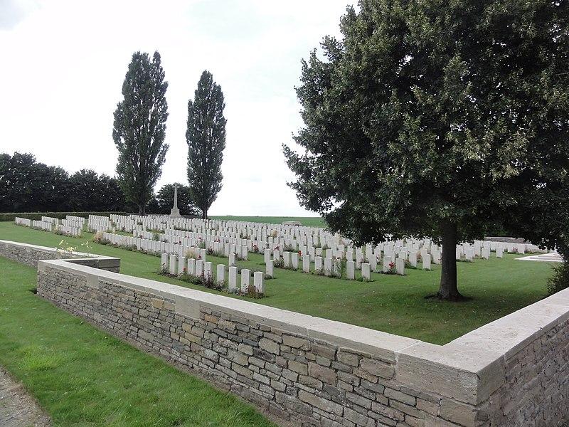 Vendhuile (Aisne) Unicorn Cemetery