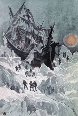 An Antarctic Mystery - The wreck of the Halbrane