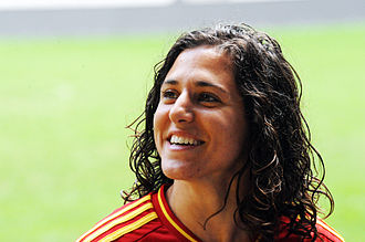 Spain women's national football team - Verónica Boquete is Spain's all-time scorer with 38 goals.