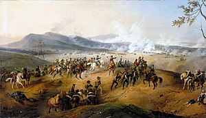 Victor Adam - Battle of Castiglione, painted in 1836, now at the Musée national du Château de Versailles