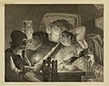 Victor Masson, Le Jeune homme riait et caressait la fille, v. 1868. Maison de Victor Hugo. Paris.jpg