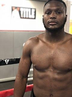 Viddal Riley British boxer
