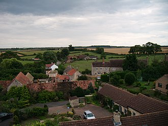 North Witham - Image: View from the tower of the church in North Witham