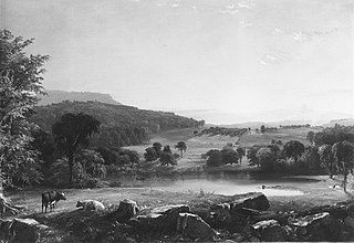 View near Sherburne, Chenango County, New York