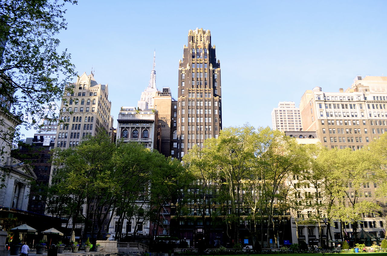 File View Of American Standard Building From Bryant Park Jpg