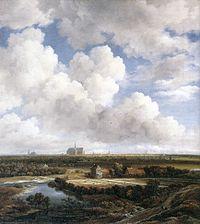 View of Haarlem with Bleaching Grounds c1665 Ruisdael.jpg