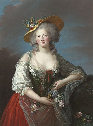 Élisabeth of France (1764–1794) - Portrait by Elisabeth Vigée Le Brun