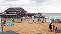 Viking Bay beach and boat jetty at Broadstairs, Kent, England 1.jpg