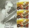 Vilayat Khan 2014 stampsheet of India cr.jpg