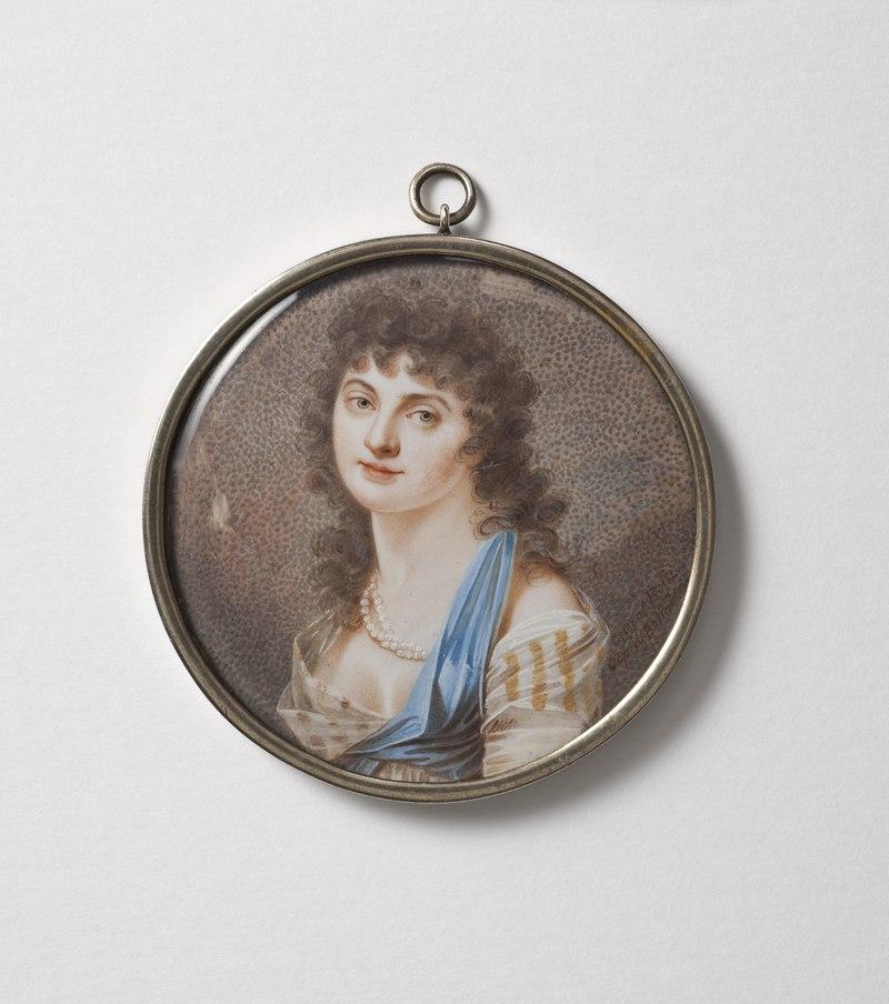 Vilhelmina Beck-Friis (1775-1856 (1859?)), friherrinna, g.m - Nationalmuseum - 137626.tif
